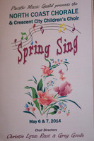 North Coast Chorale - Spring Sing 2014